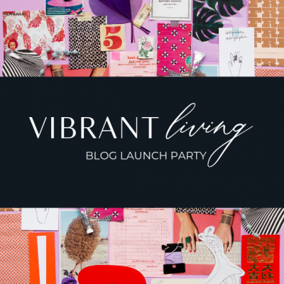 Vibrant Living Blog Launch Party