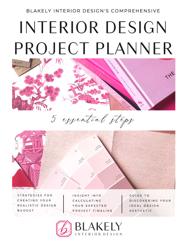 Interior Design Project Planner