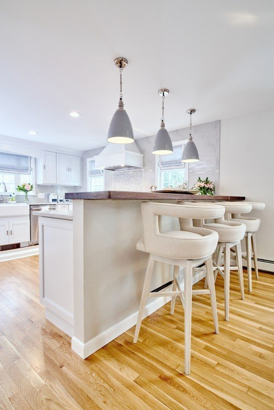blakely interior design greenwich ri kitchen remodel open concept bar top seating