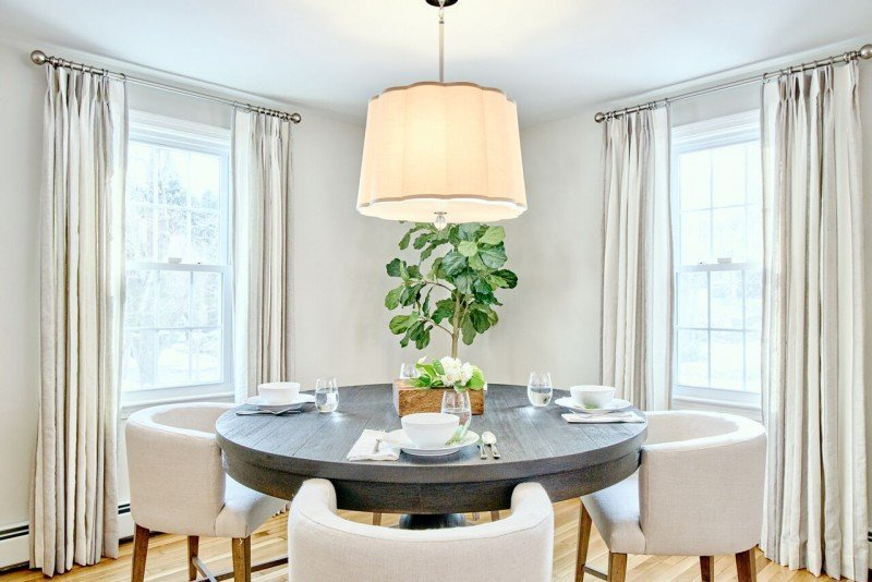 greenwich interior design remodel ri dining area open concept