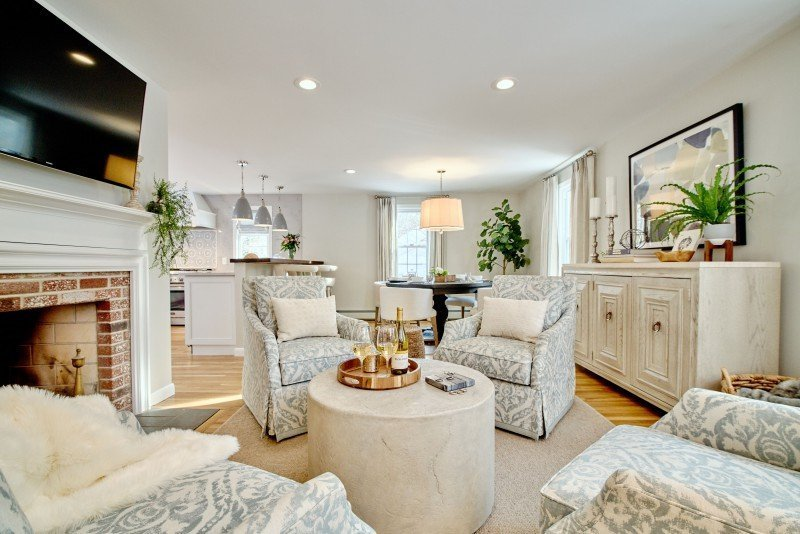 greenwich interior design remodel ri entertaining area open concept