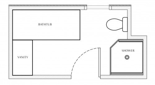 interior design bathroom remodel greenwich ri floorplan before