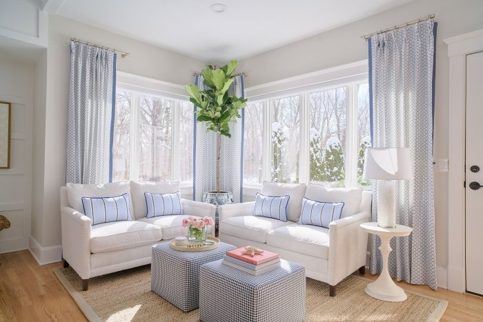 vibrant coastal how to get the look blakely interior design ri breezy drapery