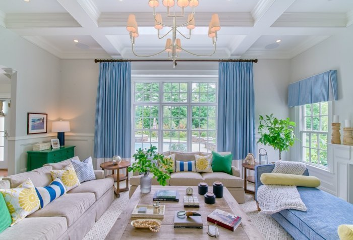 vibrant coastal how to get the look blakely interior design ri living room