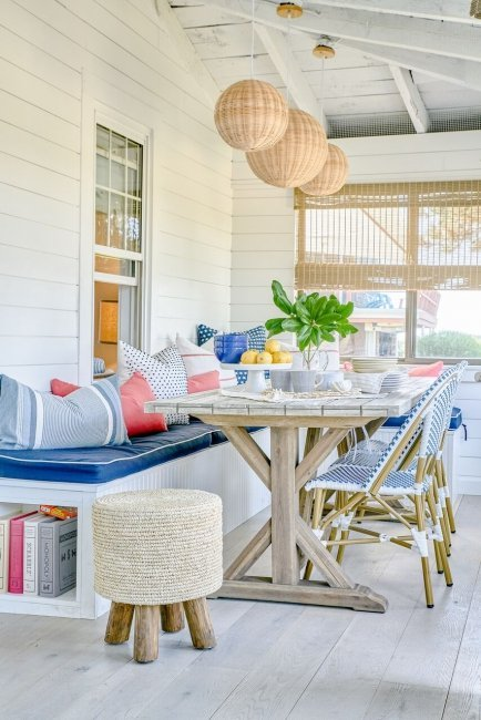vibrant coastal how to get the look blakely interior design ri natural jute seagrass