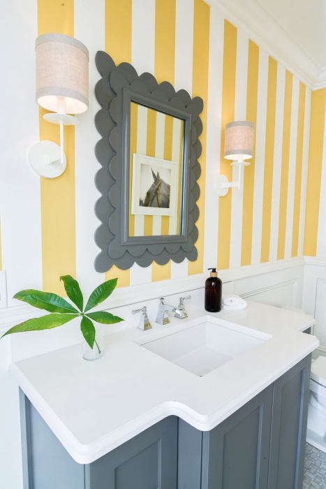 emotional impact of color in space ri yellow bathroom awakening