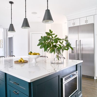 Blakely Interior Design Taggart Project Kitchen Island