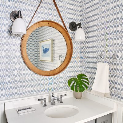 Blakely Interior Design Taggart Project Powder Room