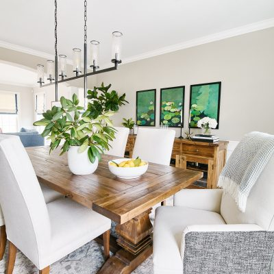 Blakely Interior Design Taggart Project Dining Room