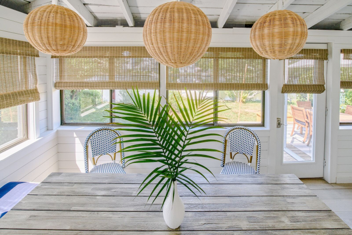 professional interior design indoor patio coastal chic