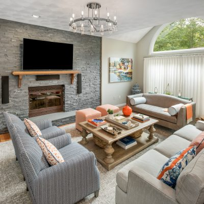Blakely Interior Design The Linden Project Family Room