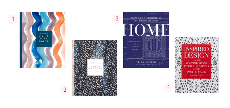 blakely interior design's favorite books resources for home decor styling