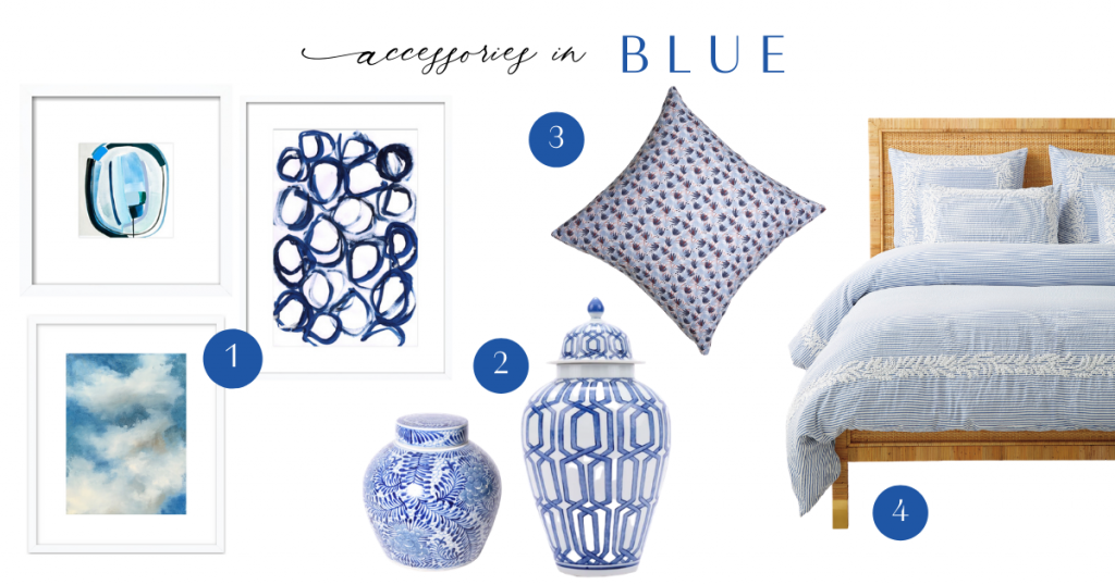The Color Series Blue - Blue Accessories