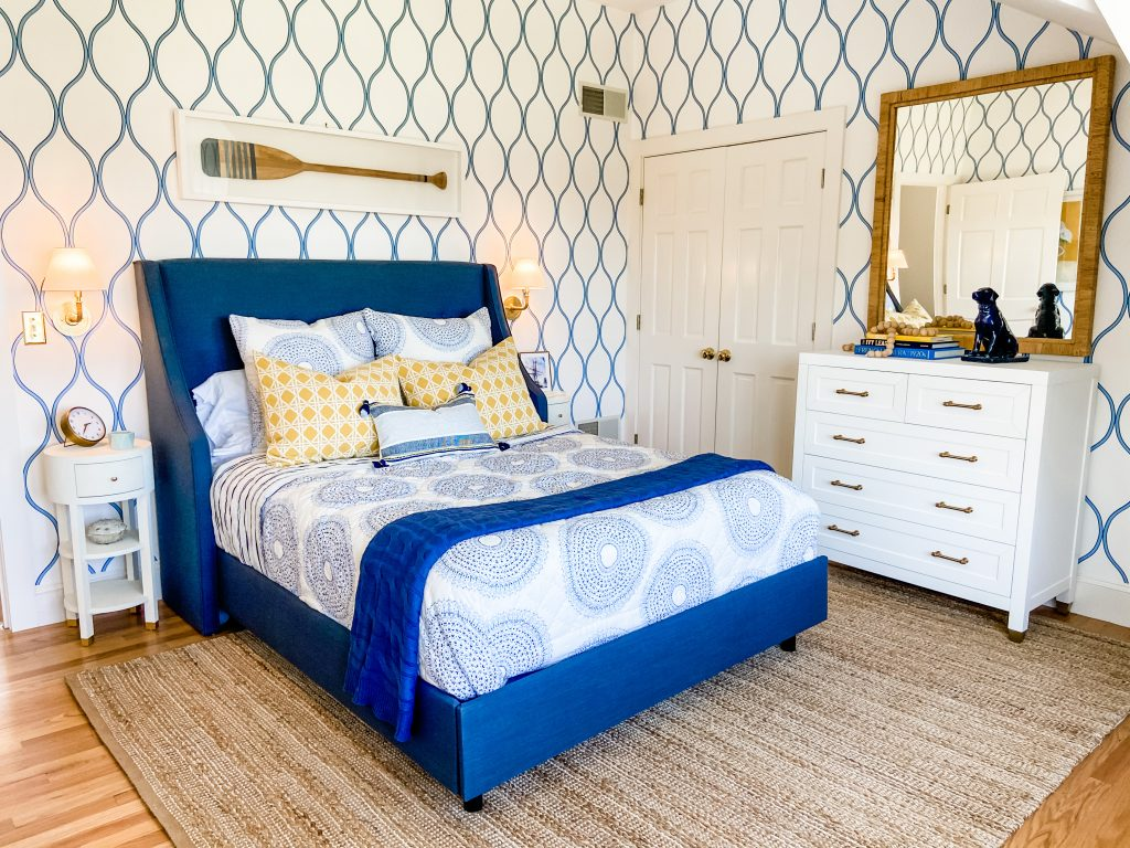 The Color Series Blue - Blue Bedroom