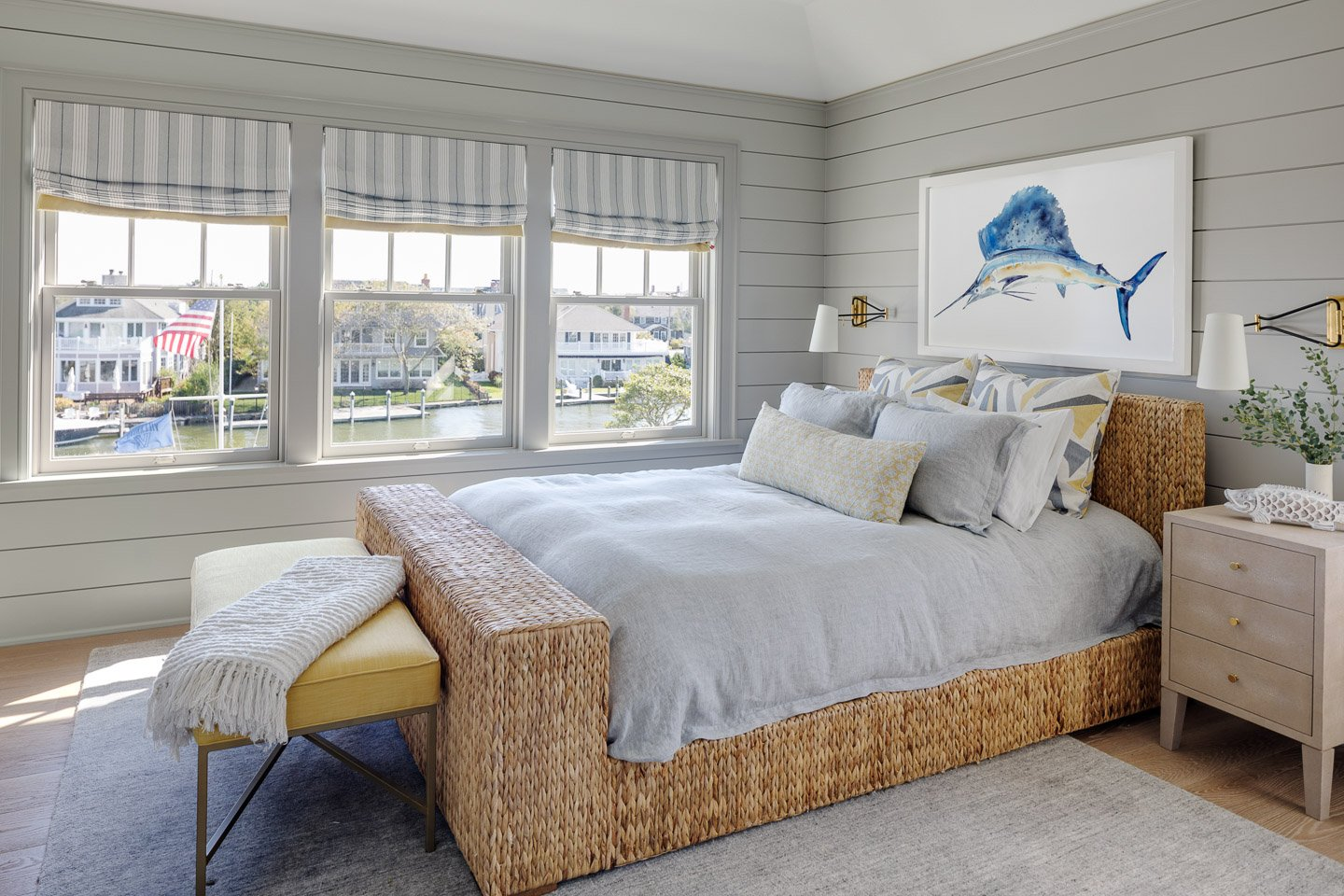 Blakely Interior Design | The Jersey Palm Project | Son's bedroom
