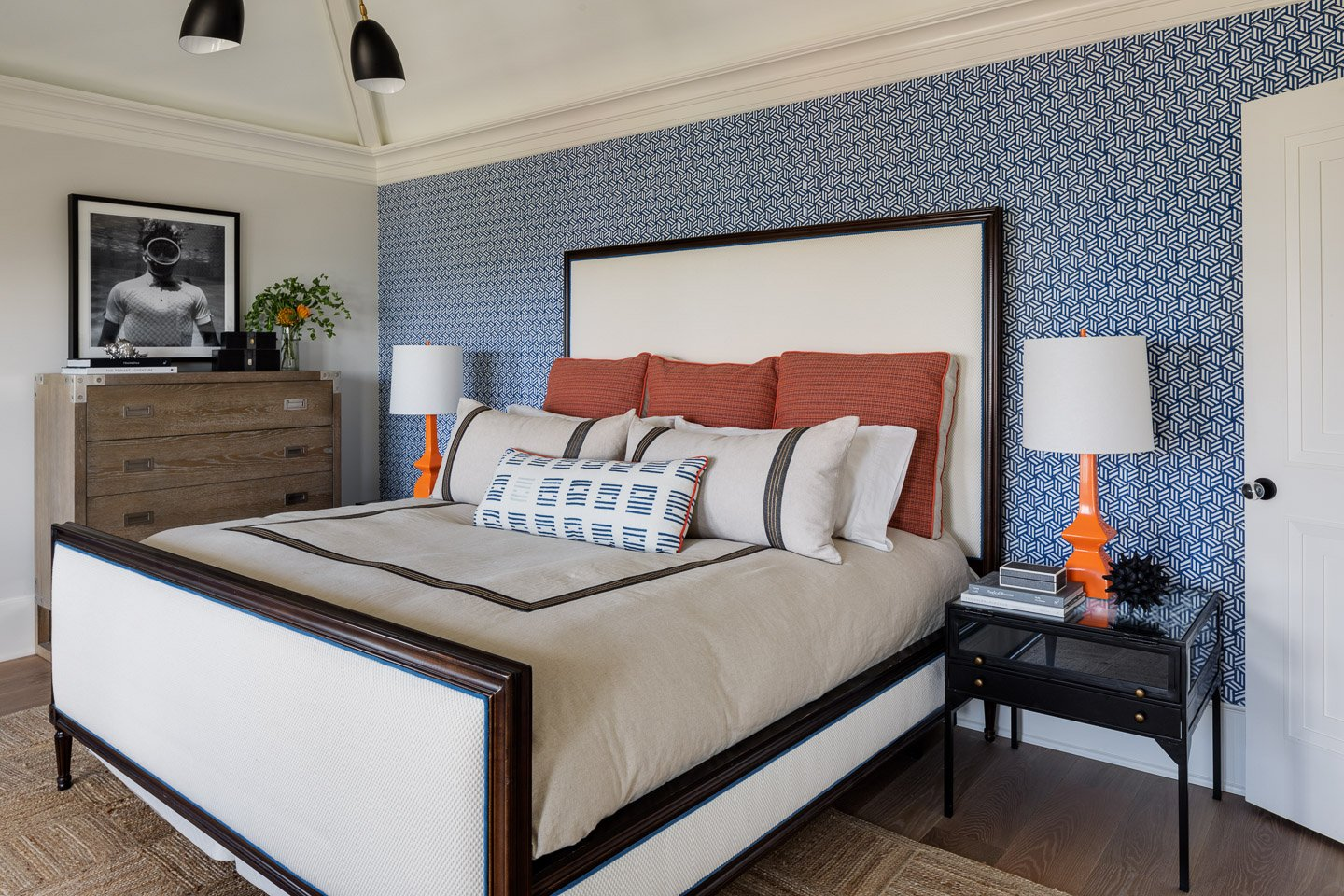 Blakely Interior Design | The Jersey Palm Project | Sons bedrom
