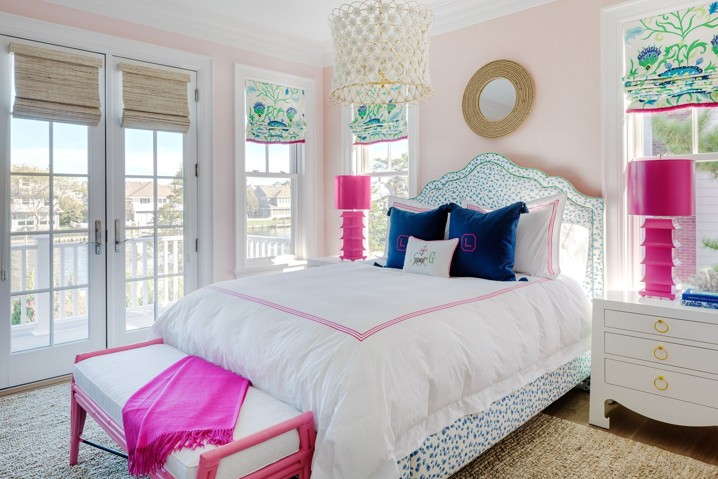 Blakely Interior Design | The Jersey Palm Project | Daughter's Bedroom