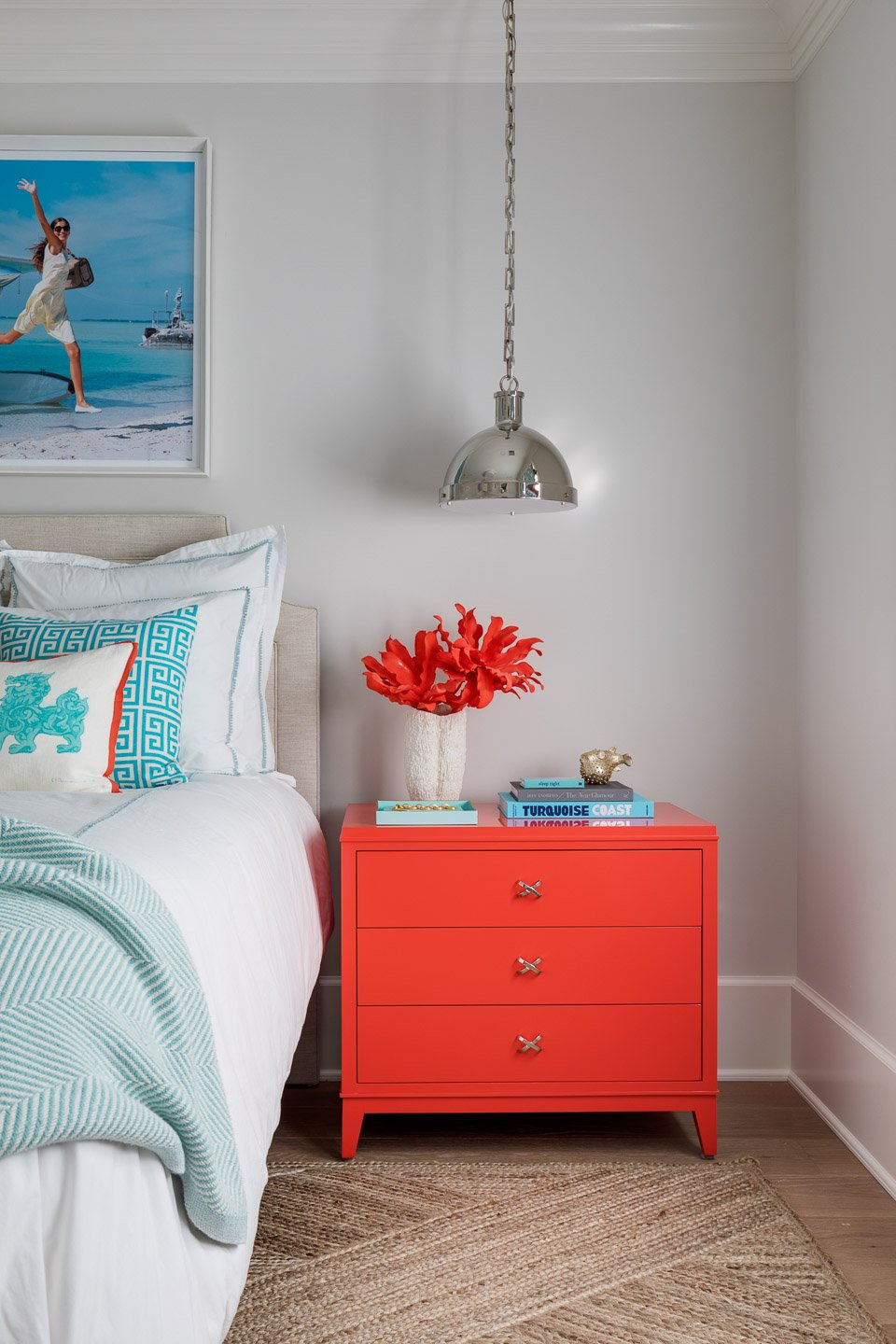 Blakely Interior Design | The Jersey Palm Project | Guest Bedroom