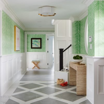 Blakely Interior Design | The Jersey Palm Project | The Foyer