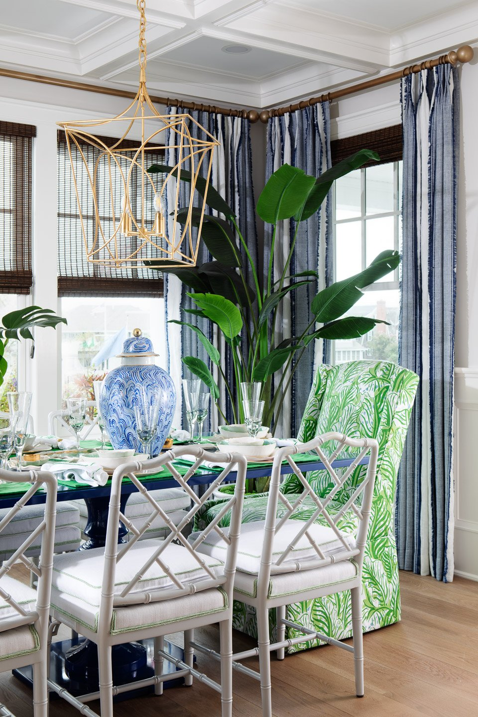 Blakely Interior Design | The Jersey Palm Project | Dining Room