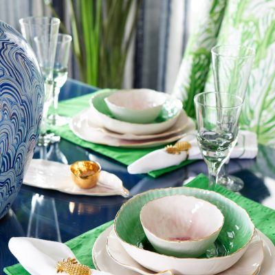 Blakely Interior Design | The Jersey Palm Project | Table Setting