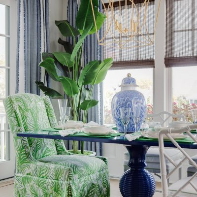 Blakely Interior Design | The Jersey Palm Project | The Dining Room Table