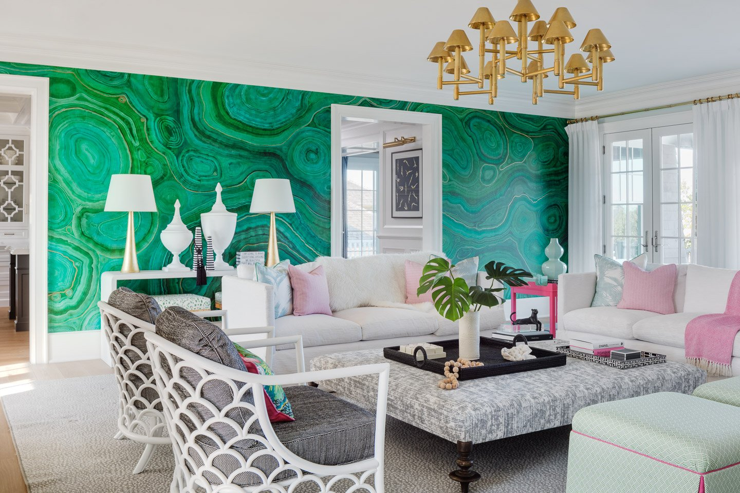 Blakely Interior Design | The Jersey Palm Project | Living Room