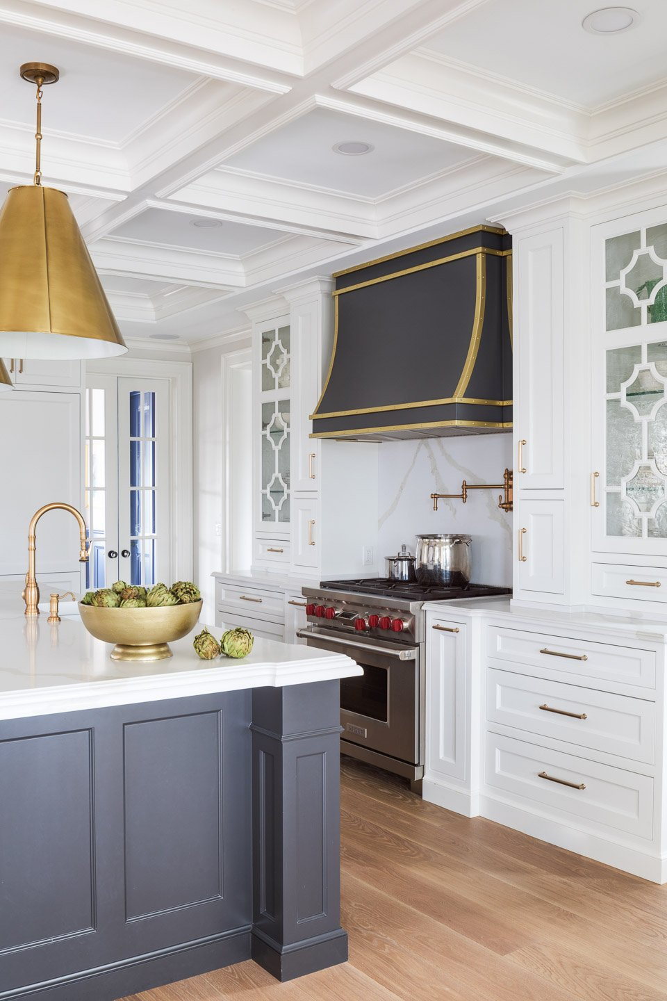 Blakely Interior Design | The Jersey Palm Project | Kitchen and Kitchen Island