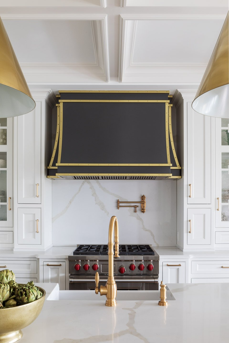 Blakely Interior Design | The Jersey Palm Project | The Kitchen Custom Hood