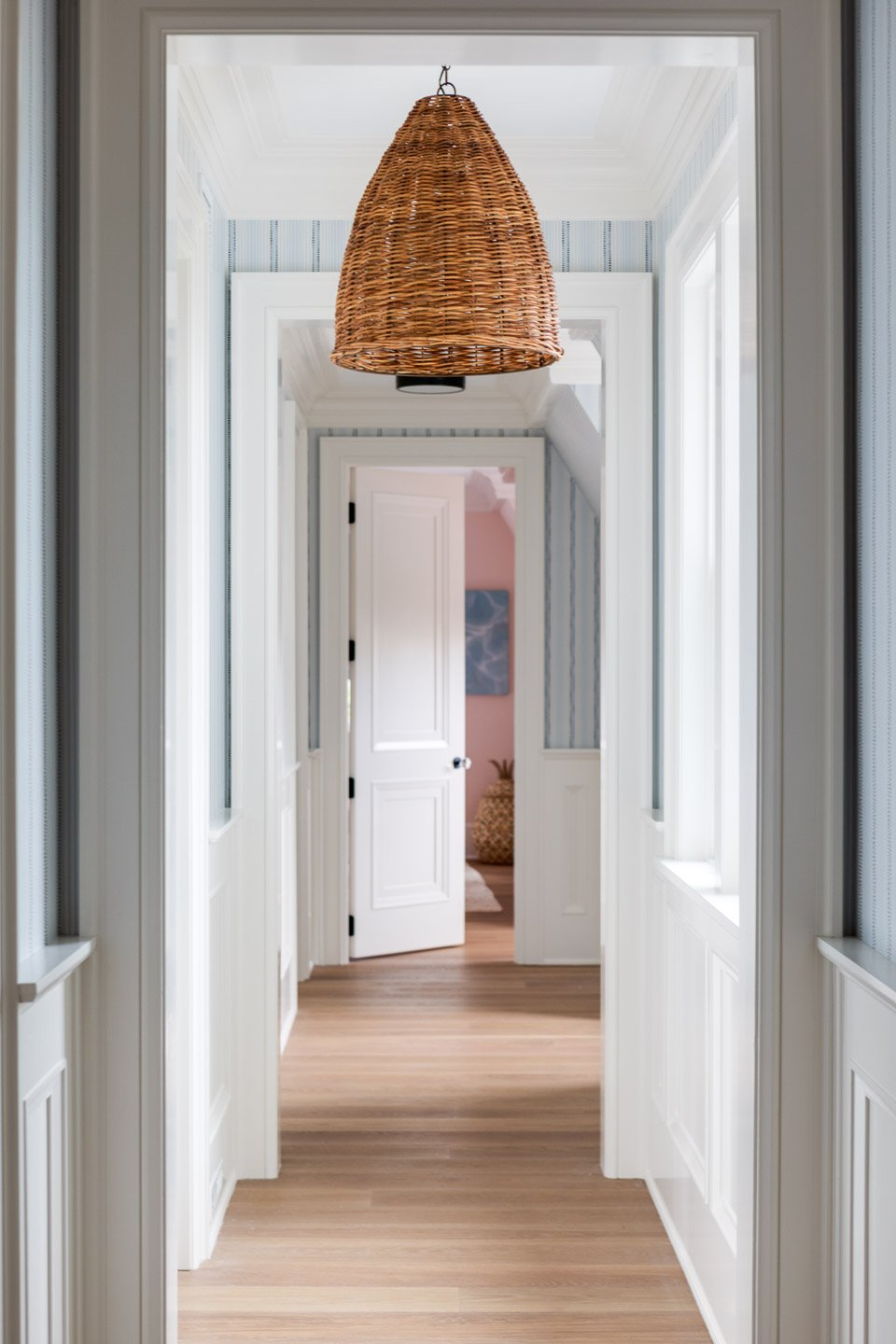 Blakely Interior Design | The Jersey Palm Project | 2nd Floor Hall