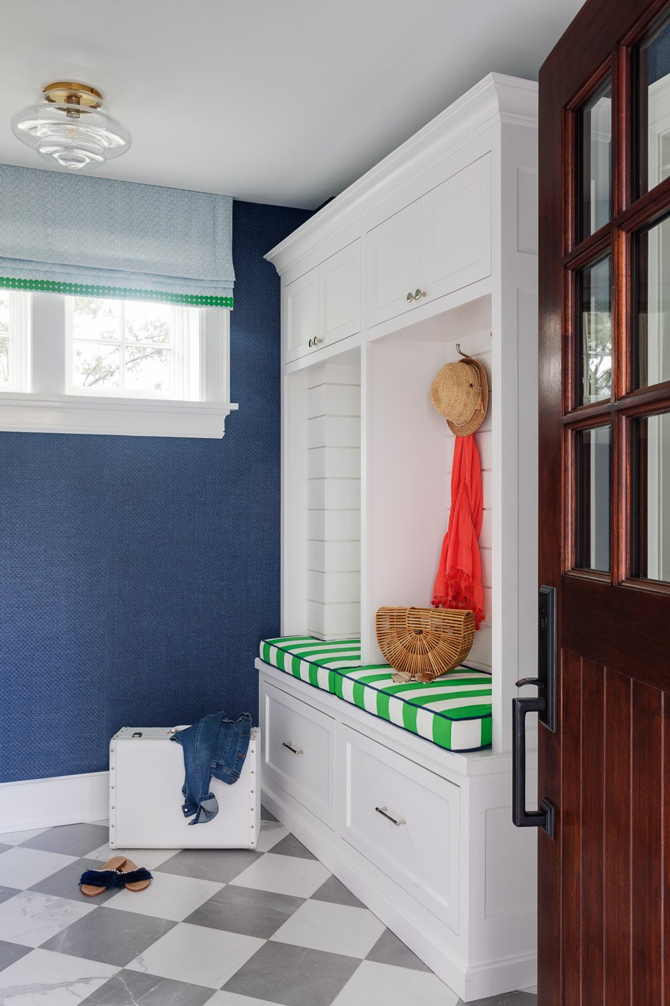 Blakely Interior Design | The Jersey Palm Project | The Mudroom