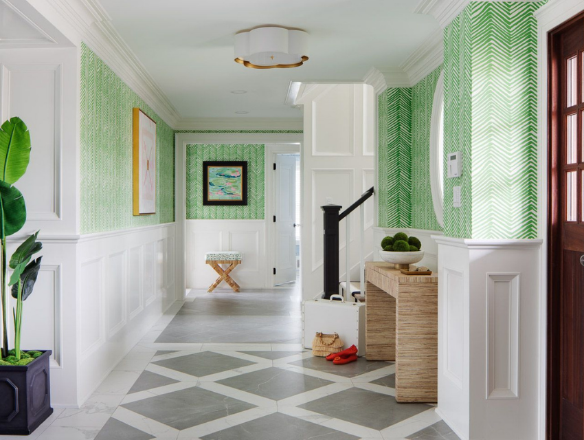 blakely interior design jamestown best lightingfresh classic hallway with colorful wallpaper accents
