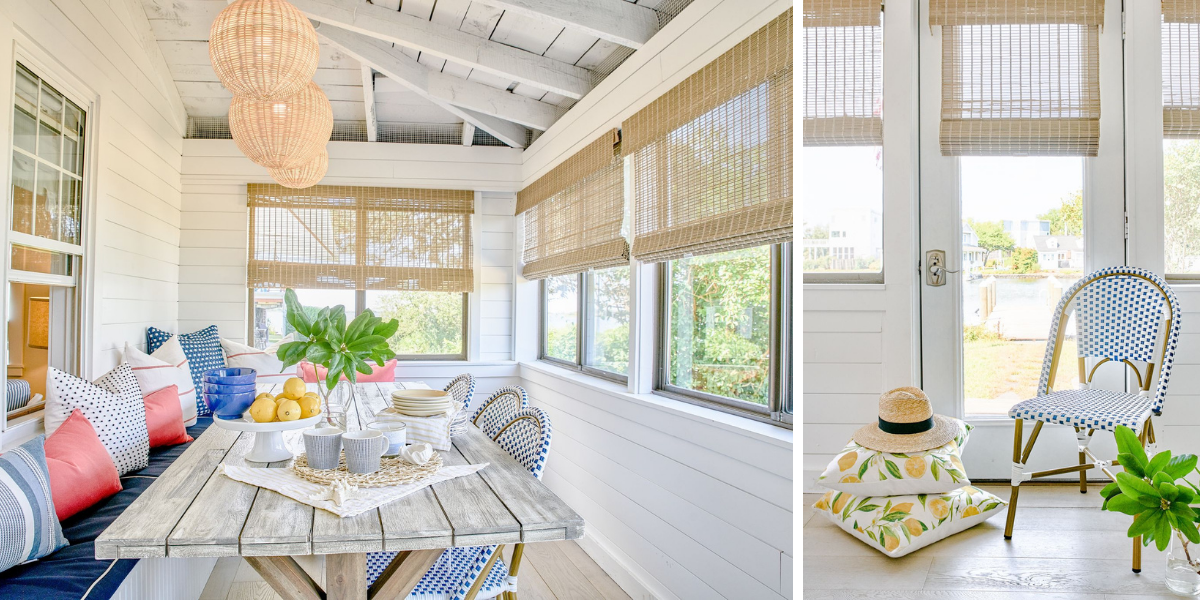 blakely interior design kingstown ri sunrooms and summer homes in new england south kingstown cottage dining room sunroom