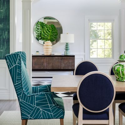 The Crystal Creek Project - Dining Room & entry