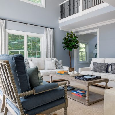 The Crystal Creek Project - living room interior design