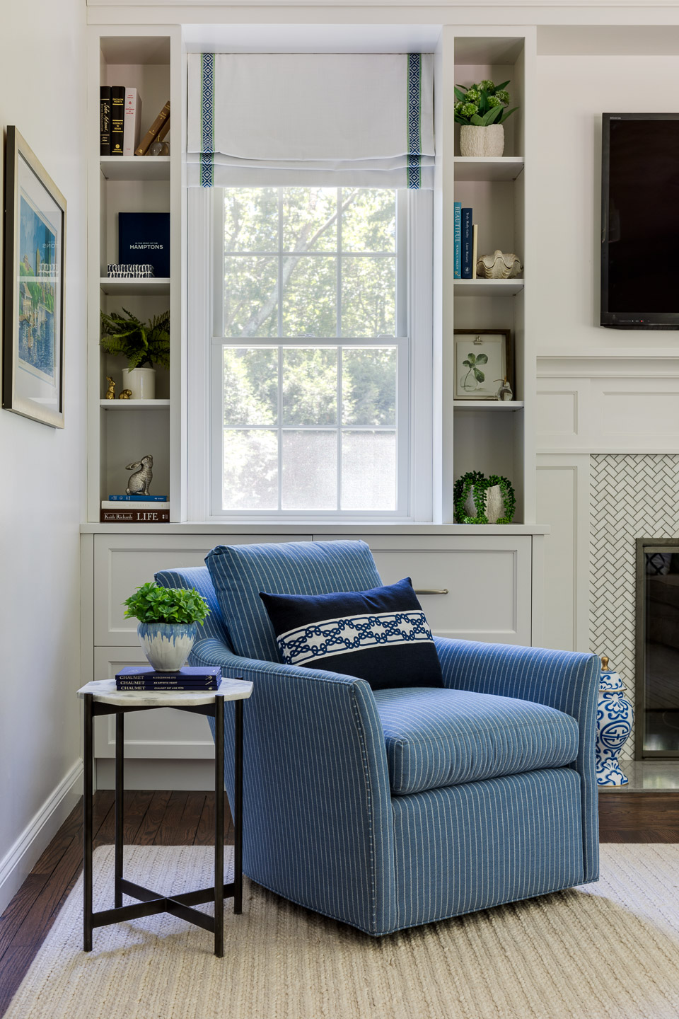 The Wickford Highlands Project - Living room details