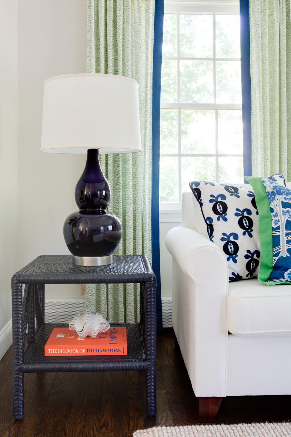 The Wickford Highlands Project - sitting room sofa and side table
