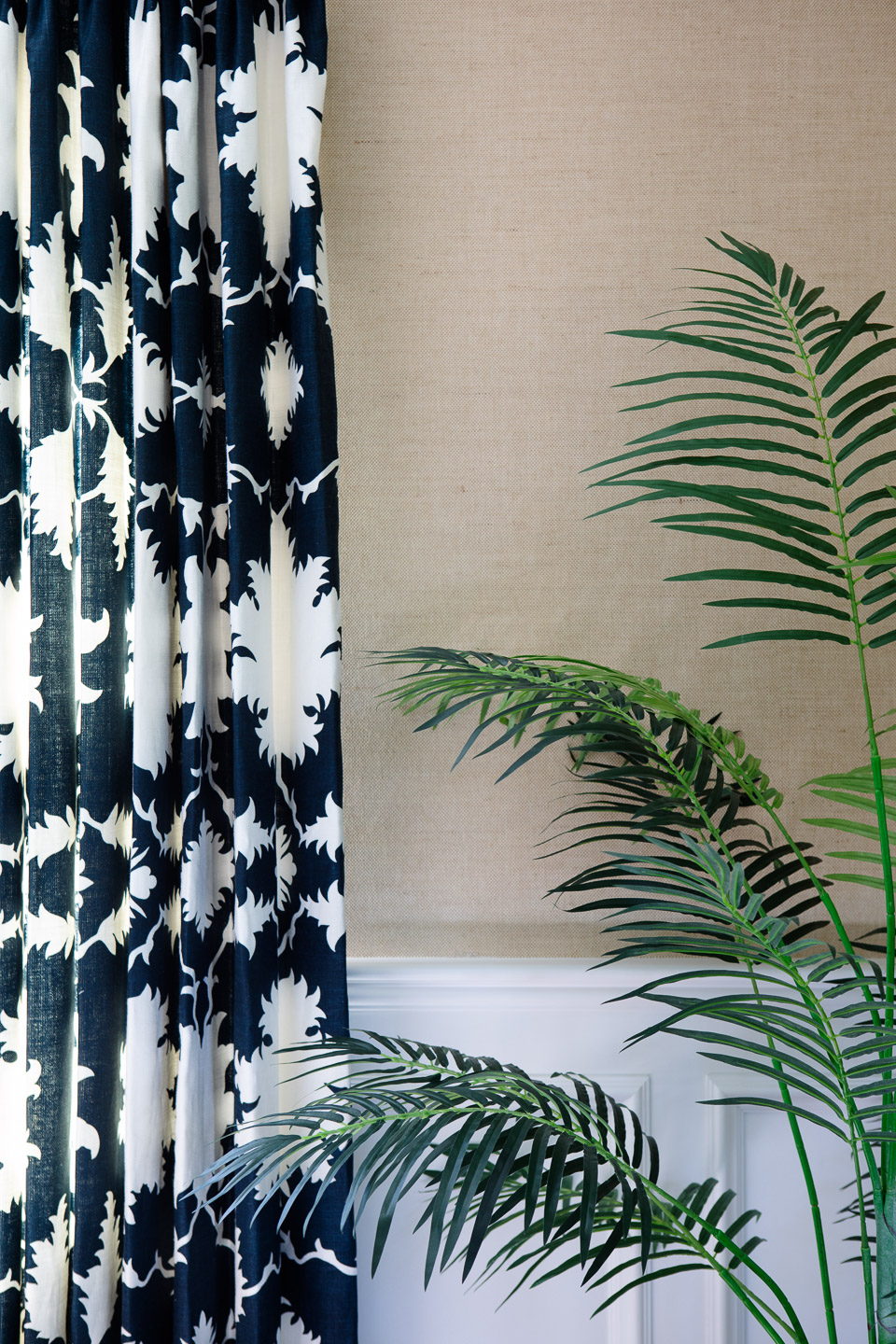The Wickford Highlands Project - wallpaper & draperies